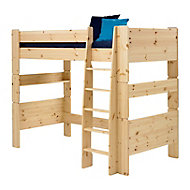 Wizard Pine effect High sleeper bed