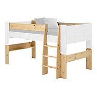 Wizard Pine effect Single Mid sleeper bed extension kit