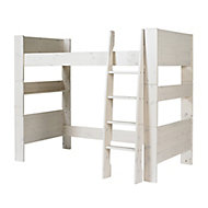 Wizard White wash Single High sleeper bed extension kit
