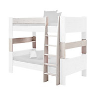 Wizard White wash Single Bunk bed extension kit
