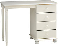 Malmo White Stained Dressing table (H)741mm (W)1003mm (D)465mm
