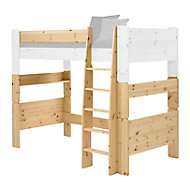 Wizard Pine effect Single High sleeper bed extension kit