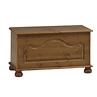 Malmo Stained 1 Drawer Ottoman (H)450mm (W)828mm (D)417mm