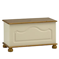 Oslo Cream 1 Drawer Storage chest (H)450mm (W)828mm (D)417mm