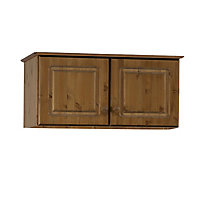 Malmo Stained Pine 2 Door Top box (H)416mm (W)883mm (D)570mm