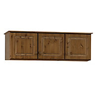 Malmo Stained Pine 3 Door Top box (H)416mm (W)1296mm (D)570mm