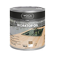 WOCA DK Natural Satin Worktop oil, 0.75L