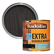 Sadolin Ebony Conservatories, doors & windows Wood stain, 1L