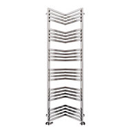 Terma Incorner 808W Electric Towel warmer (H)1545mm (W)350mm