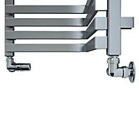 Terma Incorner 808W Electric Towel warmer (H)1545mm (W)350mm