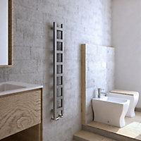 Terma Easy 251W Electric Spark gravel Towel warmer (H)1280mm (W)200mm