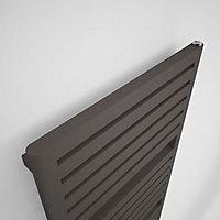 Terma Salisbury 794W Electric Noble brown Towel warmer (H)1635mm (W)540mm