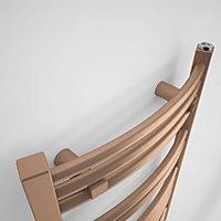 Terma Jade 252W Galvanic old copper Towel warmer (H)1149mm (W)400mm