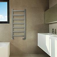 Terma Crystal 247W Sparkling gravel Towel warmer (H)840mm (W)400mm