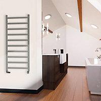 Terma Crystal 411W Sparkling gravel Towel warmer (H)1200mm (W)500mm