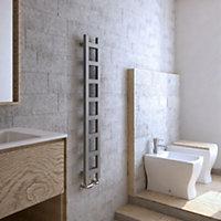 Terma Easy 251W Spark gravel Towel warmer (H)1280mm (W)200mm
