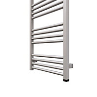 Terma Fiona 400W Electric Sparkling gravel Towel warmer (H)900mm (W)480mm
