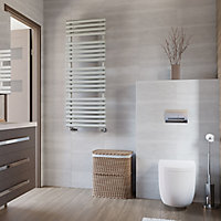 Terma Rolo Towel Salt & Pepper Towel warmer (H)1360mm (W)520mm