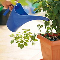 Blue Plastic Watering can 1.5L