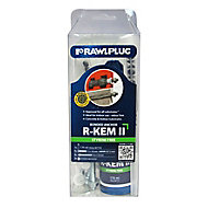 Rawlplug R-KEM-II-300 7 piece Resin polyester Set, 175ml
