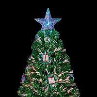 5ft Present Fibre optic christmas tree