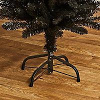 6.5ft Black pencil pine Artificial Christmas tree