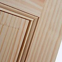 6 panel Clear pine LH & RH Internal Door, (H)1981mm (W)686mm