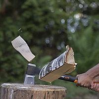 Fiskars Carbon steel Splitting axe, 1.54kg