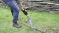Fiskars Carbon steel Brush hook 0.45kg