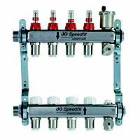 JG Speedfit 4 ports Manifold