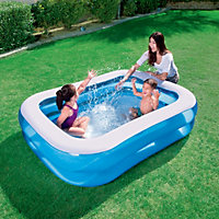 Bestway Rectangular Plastic Family Swimming pool 2.01 x 1.5m