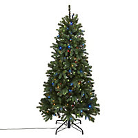 6ft Smart Natural looking Artificial Christmas tree