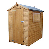 6x4 Apex roof Shiplap+ Wooden Shed