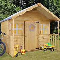 6x5'6 Honeysuckle Wooden Playhouse