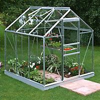 6x6 Horticultural glass Apex Greenhouse