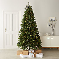 7.6ft Smart Natural looking Artificial Christmas tree