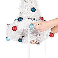 "72"" Trevalli White pop up Artificial Christmas tree"