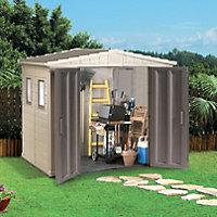 Keter Plastic 8x6 Garden storage