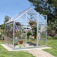 Palram Harmony 6x6 Polycarbonate Apex Greenhouse