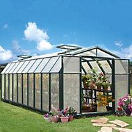 Rion Hobby Gardner 8x20 Acrylic Barn Greenhouse