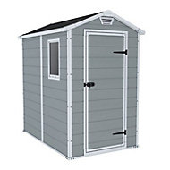 Keter Manor 6x4 Apex Plastic Shed