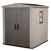 Keter Factor 6x6 Apex Plastic Shed