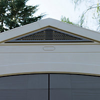 8x8 Factor Apex roof Plastic Shed