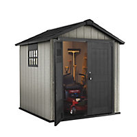 Keter Oakland 7x7 Apex Plastic Shed