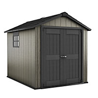 Keter Oakland 9x7.5 Apex Plastic Shed