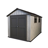 11x7.5 Oakland Apex roof Plastic Shed