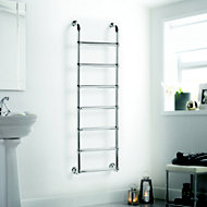 Heating Style Upton Electric Towel warmer (H)1600mm (W)500mm