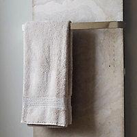 Brushed Vetro towel bar (H)20mm (W)520mm (D)90mm
