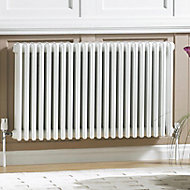 Acova 3 Column radiator, White (W)1042mm (H)600mm