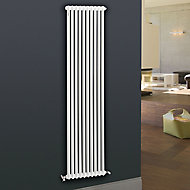 Acova 2 Column radiator, White (W)490mm (H)2000mm
